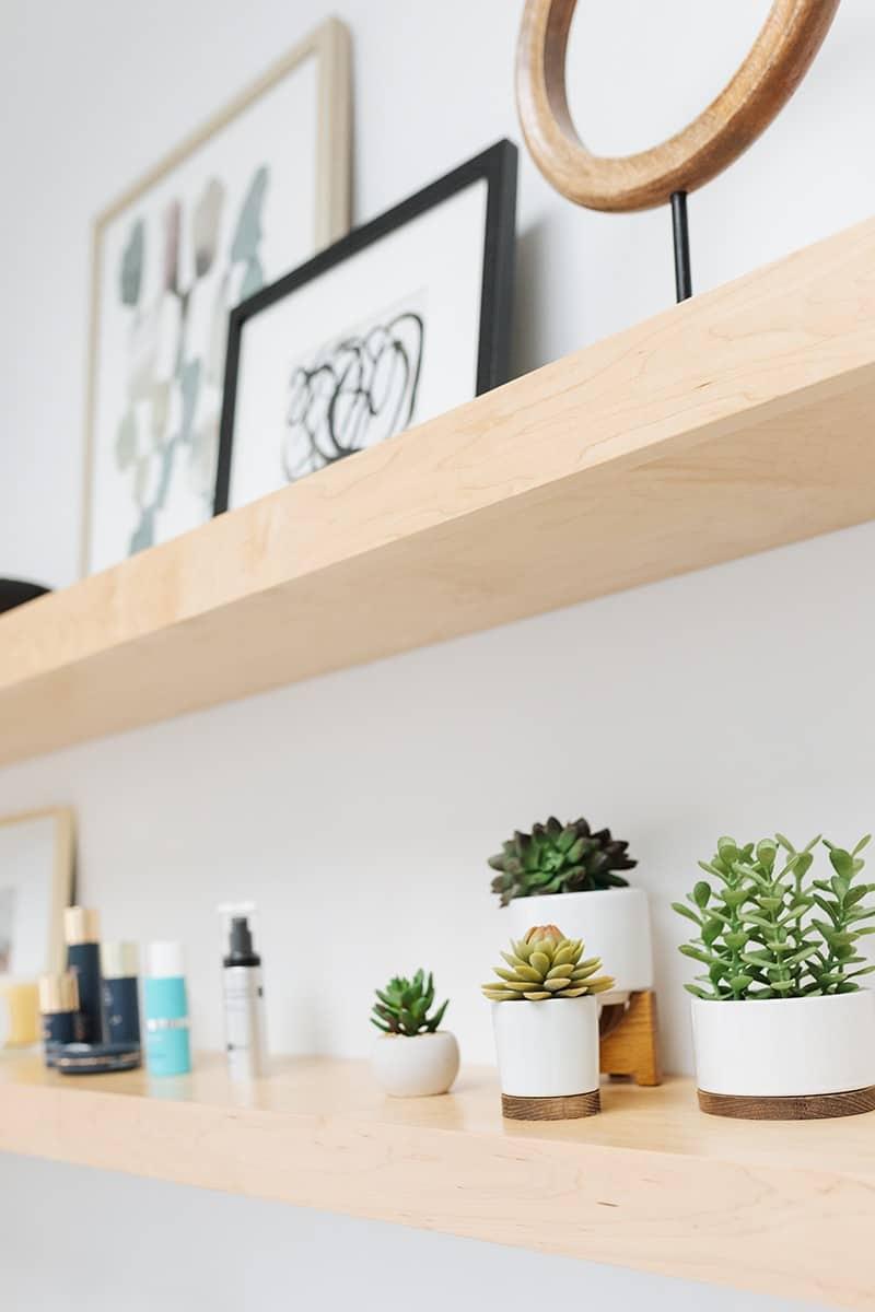Skin Ritual Shelves